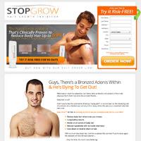 parar de crescer website homens