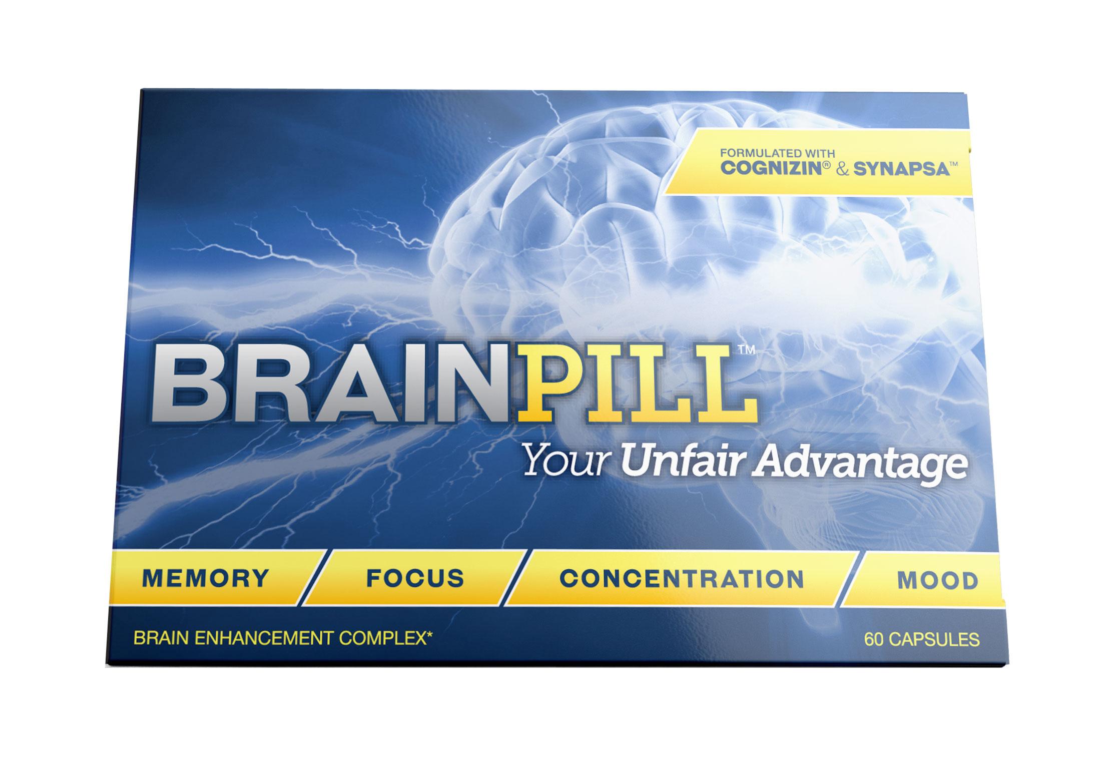 BrainPill - 13 Nootropics box