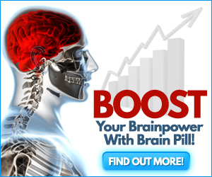 Natural Brain power boosting supplement
