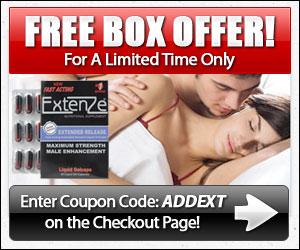 Extenze Pills - Free Box Offer!